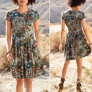 NWT Peruvian Connection Wanderlust Floral Dress XS